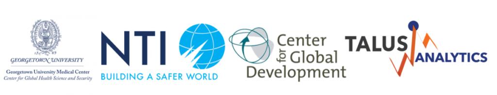 Logos of CGHSS, NTI, CDev, and Talus